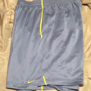 Nike authentic training apparel Michigan shorts